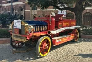 Blaze somewhere? World's earliest fire engine, a 1914 John Morris, can...