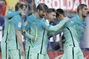 La Liga: Lionel Messi strikes late as FC Barcelona beat Atletico...