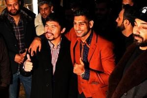 Manny Pacquiao agrees to clash with silver medallist Amir Khan in...