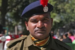 Jitendra Kumar Yadav was awarded with DG Insignia and Commendation for his extraordinary act of valour.