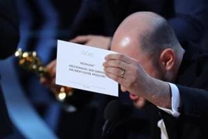 Epic Academy Awards goof-up: La La Land mistakenly announced Best...