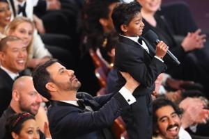Academy Awards 2017: Lion's Sunny Pawar roars like The Lion King with...