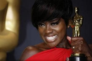 Watch a teary Viola Davis give an emotional speech after winning Oscar...