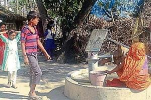 UP election: Mankapur hopes its vote will help rid it of hazardous hand pumps this polls