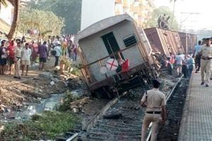 Kurla-bound goods train derailed, no one hurt