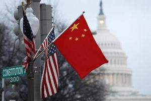 1st senior Chinese official visits Washington in Trump era