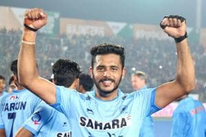 Harmanpreet received the Hockey India League (HIL) Emerging Player Award after the final on Sunday.