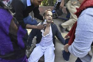 Delhi varsity professor assaulted by students diagnosed with internal...