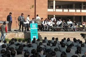 Evacuation drill held at Panchsheel Inter College in Noida