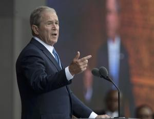 George W Bush says 'we all need answers' on links between Trump and...