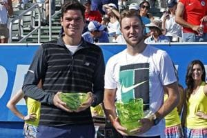 Jack Sock wins ATP Delray Beach Open after Milos Raonic withdraws due...
