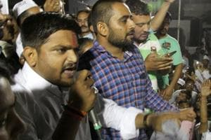 More than a year after Patidar quota stir, Hardik Patel holds...