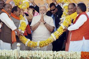 UP elections: Modi says will end bahubali reign if BJP comes to power
