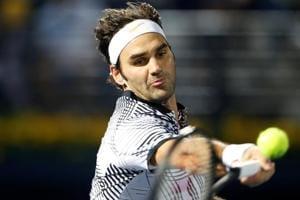 Roger Federer beats Benoit Paire inDubai Tennis Championships opener