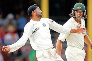 Harbhajan, the Colossal Clown; Ganguly, the Sheepish Shocker, taunts...