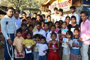 AU students' 'Hamari Pathshala' to better the lives of slum kids