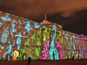 Indian colours, peacock light up the Buckingham Palace as British...