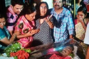 Indian engineer killed in Texas: Poignant scenes in Hyderabad, funeral...