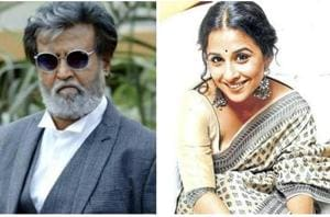 We will know in a while: Vidya on working with Rajinikanth in Kabali...