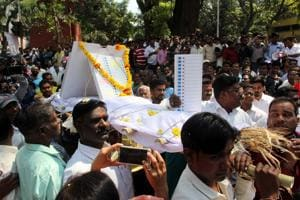 Lost candidates claim BJP rigged Pune civic polls, perform 'last...
