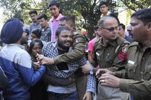 Ramjas row in Chandigarh: ABVP-SFS clash at Panjab university,...