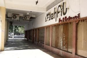 APPETISINGNOMORE: It's curtains for Mehfil, one of the oldest restaurants inSector 17, which used to chock-a-block with diners.