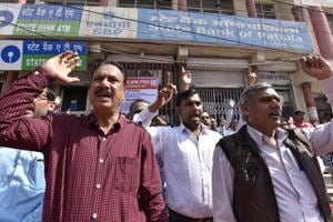 Banking service partially hit in Gurgaon as employees protest against...