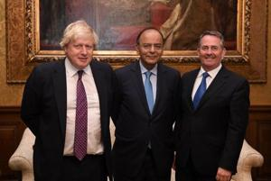 Brexit won't shut doors, UK ministers tell Jaitley