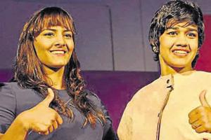 Phogat sisters Geeta and Babita, joined the row of sportspersons who...