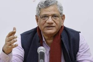 Threat of violence is RSS' only weapon, says Yechury on ABVP row