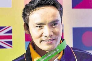 Indian shooter Jitu Rai won a bronze medal in the 10m air pistol...