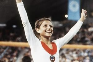 Olga Korbut, to save her from hunger, sells Munich Olympics gymnastics...