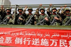 China deploys aircraft, combat helicopters in anti-terror drill in...