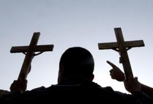 Right-wing group storms church, disrupts marriage prayer meeting in MP...