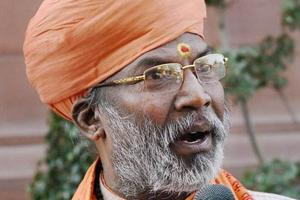 Cong moves minority panel seeking action against Sakshi Maharaj for...