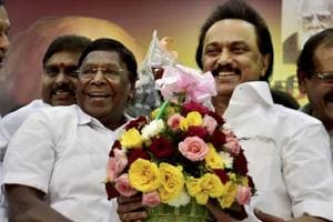 Stalin celebrates 65th birthday, DMK gifts him a bull for supporting...