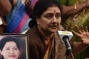 No AC or mattress for Sasikala in prison: DIG