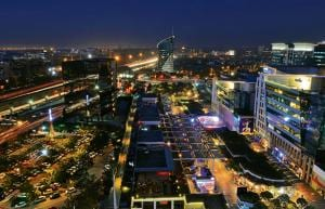 Places such as the Gurgaon's popular eating district of CyberHub where alcohol is served will continue to be in business.