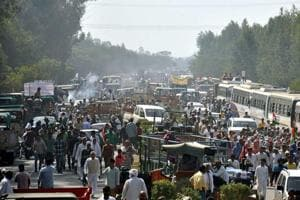 Jat protests: Brace for long snarls at Delhi-NCR border, 4000 police out on streets