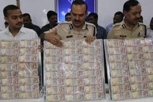 Mumbai doctor among 6 caught with ₹2.25 crore in scrapped notes