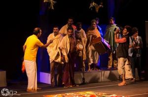 Kaali Nadakam, one of the plays staged at Meta 2017. It explores caste relations and ideas of power and justice through a murder that takes place during the performance of a traditional temple play.