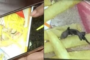 A family's outing at McDonald's turned into horror when they found a...