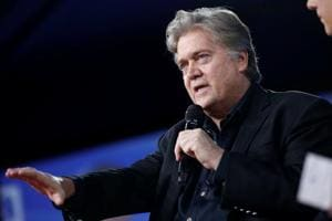 White House Chief Strategist Stephen Bannon speaks at the Conservative Political Action Conference in National Harbor, Maryland, US, February 23, 2017