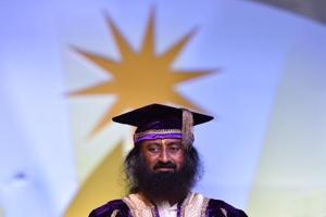 Greater Noida: Everyone has azaadi to speak, says Sri Sri Ravishankar