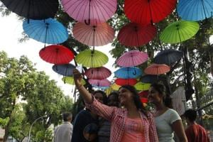 Parties seek credit for three selfie points at Shivaji Park in Mumbai