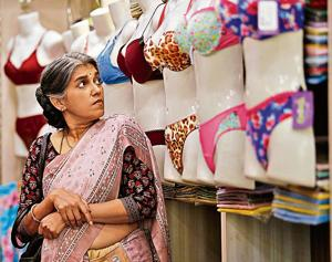 """Ratna Pathak Shah in a still from the film Lipstick Under My Burkha. The Central Board for Film Certification refused to certify the film because it is """"lady oriented""""."""