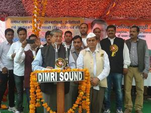 Once voted to power the state will generate our resources: Harish Rawat