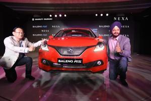 Maruti Suzuki Baleno RS launched in India
