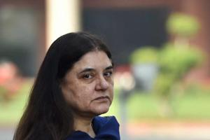 Maneka's 'hormonal outbursts' comment is peculiar and regressive