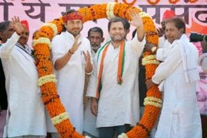 Rahul emerges as solitary campaigner for Congress in UP